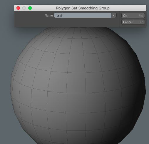 Smoothing Group tool